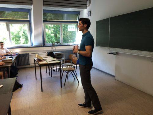 Schulprojekt am Hölderlin-Gymnasium Heidelberg