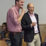 Magister Philipp Gläss und Prof. Weller