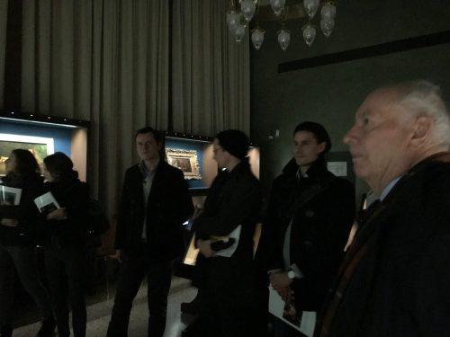 Führung durch die Trübner-Ausstellung mit Prof. Jayme