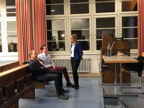"""Vortrag Prof. Merkel: """"Menschen, Cyborgs und humanoide Roboter – Herausforderungen für Verantwortung und Autonomie"""""""